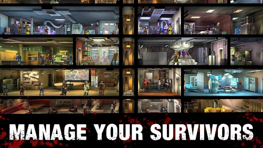 Zero City: Zombie games for Survival in a shelter 5