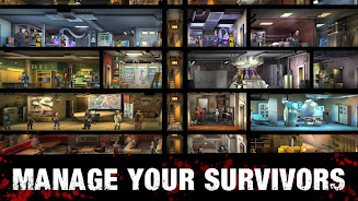 دانلود Zero City: Zombie games for Survival in a shelter اندروید