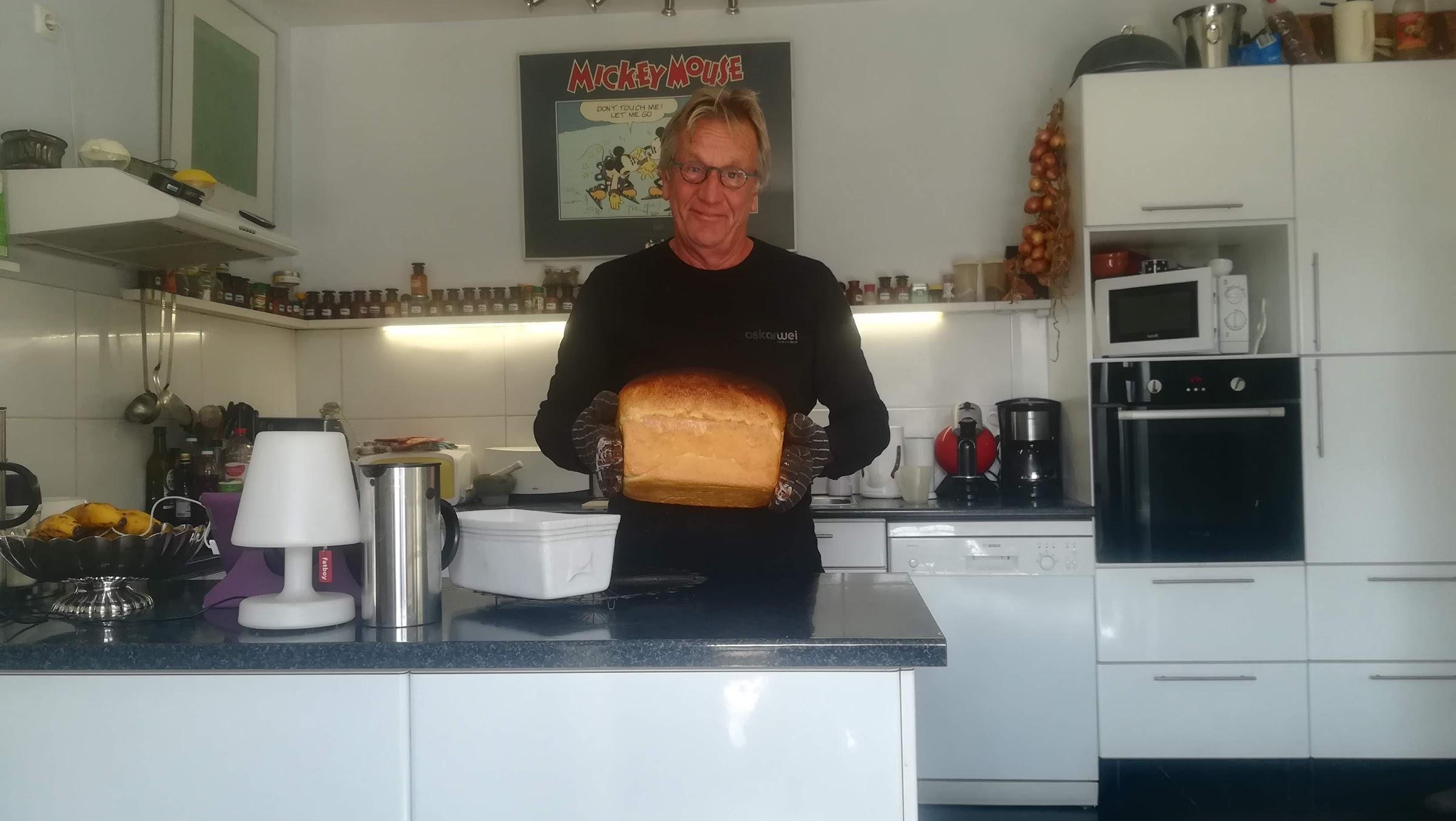 Goot brood uit eigen oven!