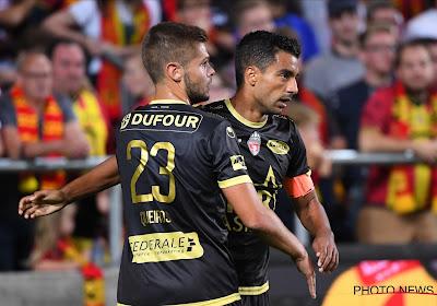 Sami Allagui scoorde en miste een strafschop Achter de Kazerne