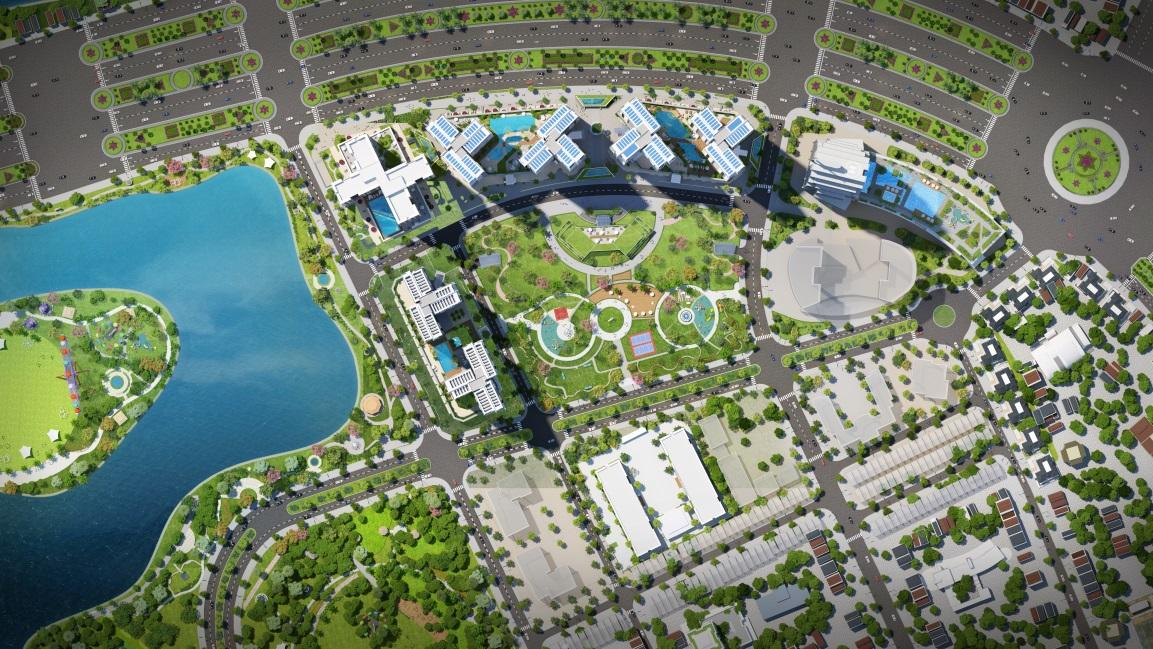 Tổng quan dự án xanh giữa lòng thành phố