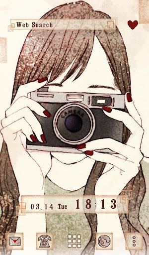 Wallpaper Camera Girl Theme 1.0.0 Windows u7528 5