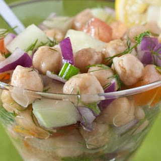 Chicka Chicka Chickpea Salad
