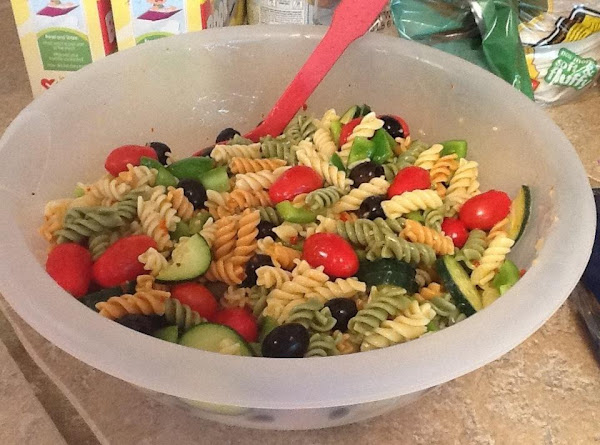 Light And Yummy Pasta Salad Recipe