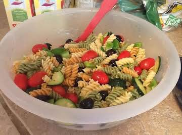 Light and Yummy Pasta Salad