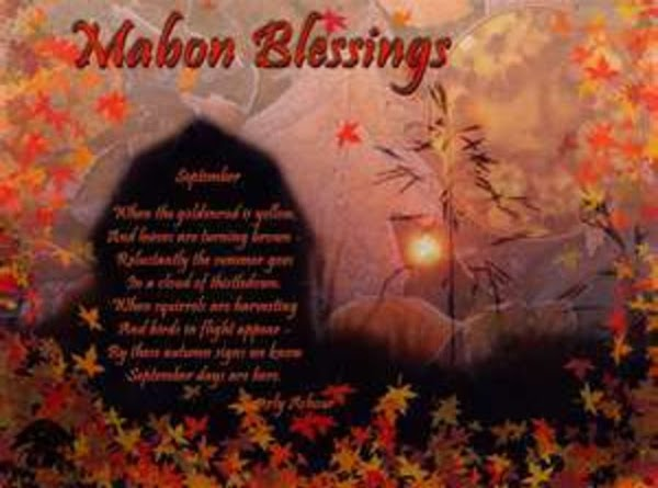 ~ Mabon Elemental Blessing ~ Recipe