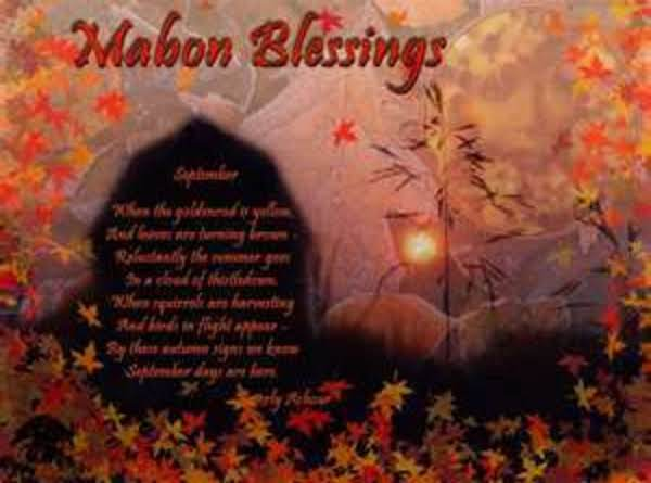 ~ Mabon Elemental Blessing ~ Recipe