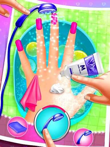 Nail Art Salon Simulator Screenshot