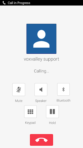MoSIP Mobile Dialer screenshot