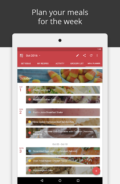 BigOven Recipes, Meal Planner, Grocery List & More screenshot 13