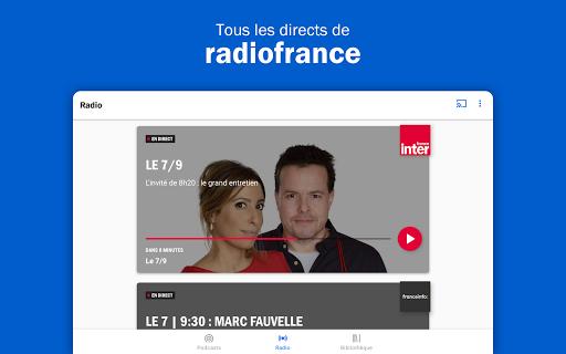 Radio France - podcasts, direct radios 6.5.2 screenshots 7
