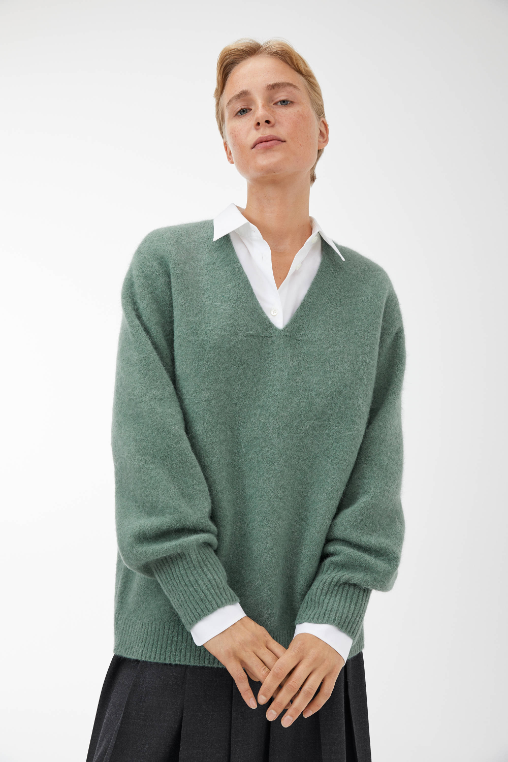 TheV-Neck Sweater
