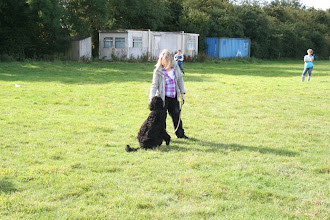 Photo: Lisa with Ralph Labradoodle (who won Best Looking Pooch! Congratulations!)