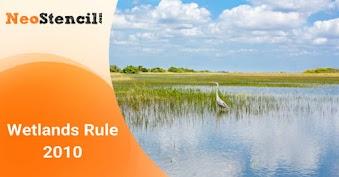 Wetlands Rule 2010
