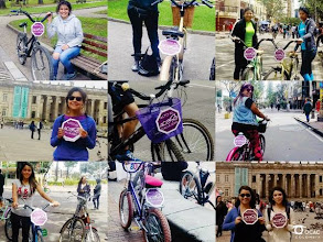 Photo: 4.12.15  OCAC Colombia held a bicycling & harassment awareness event.