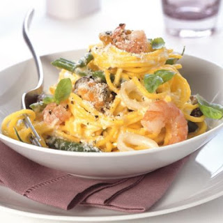 Seafood Pasta with Parmesan