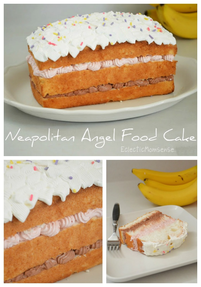 Angel Food Cake With Marshmallow Frosting