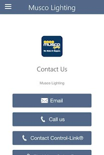 Musco Lighting Control-Link®- screenshot thumbnail