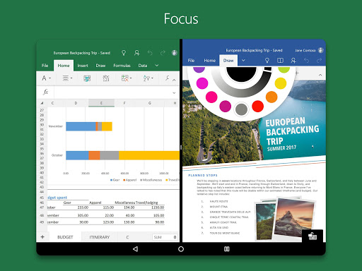 Android/PC/Windows的Microsoft Excel (apk) 应用 免費下載 screenshot