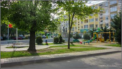 """Photo: Grupul statuar """"Horea, Cloșca și Crișan"""" - Calea Victoriei, Mr3, parc - 2017.04.24"""