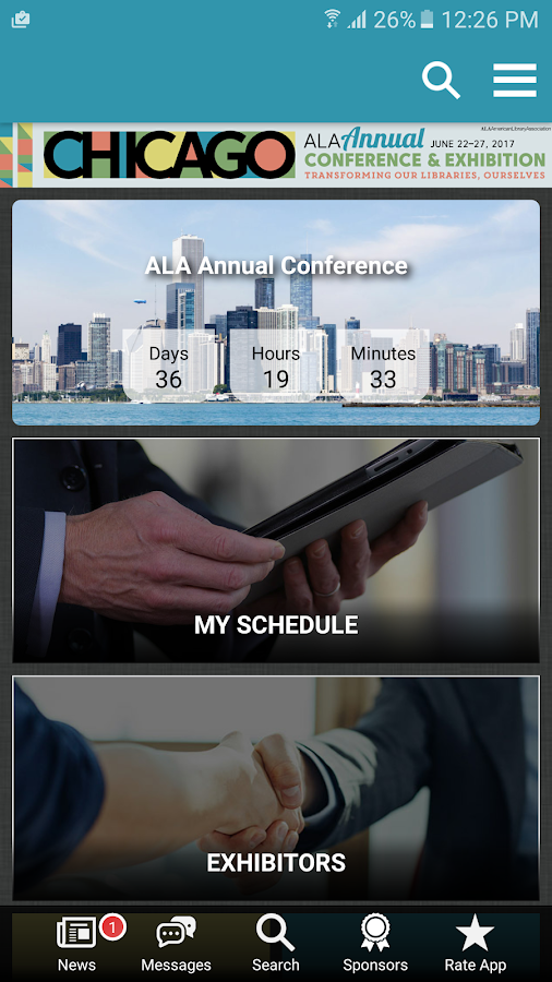 2017 ALA Annual Conference- screenshot