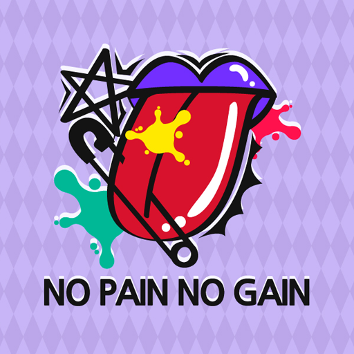 NO PAIN NO GAIN Atom Theme