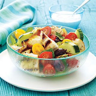 Grilled Chicken Panzanella