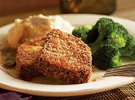 CRISPY FRIED MEATLOAF Recipe
