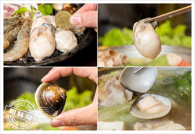 名家汕頭沙茶火鍋菜單鮮蚵蛤蠣
