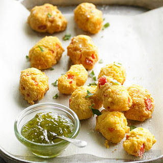 Beer-Cheese Hushpuppies