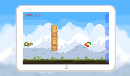 Flying Hungry Turtle Adventure screenshot 3