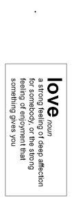 Love noun