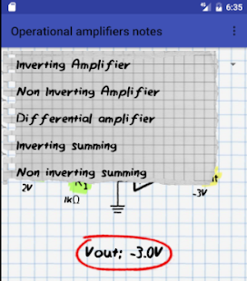 Operational amplifiers notes- screenshot thumbnail