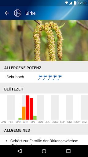 Pollenflug-Vorhersage 2.7 screenshots 5