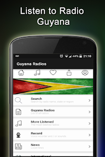 Guyana Radio Stations- screenshot thumbnail