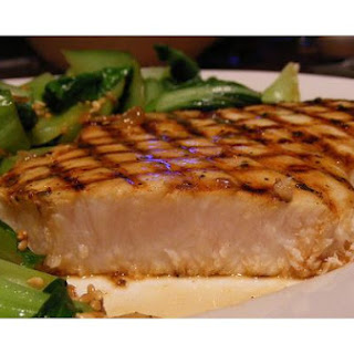 Grilled Swordfish.