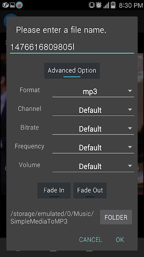 Convert video or audio to mp3 3.1.3 screenshots 3