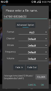 Convert video or audio to mp3 - náhled