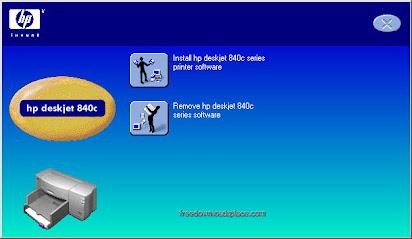 HP TÉLÉCHARGER 840C IMPRIMANTE DRIVER