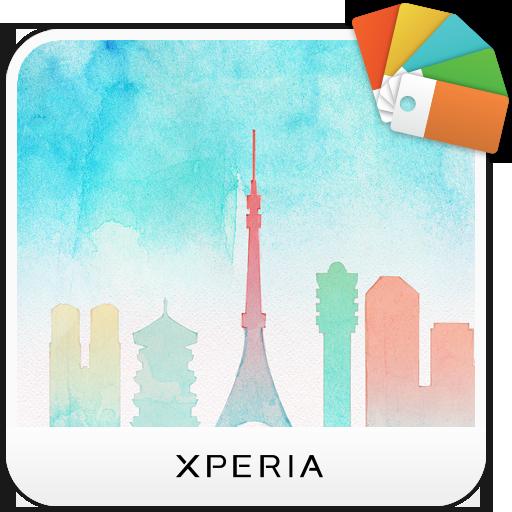 XPERIA™ Cityscape Tokyo Theme