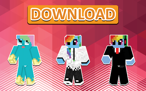 Pony Skins for Minecraft