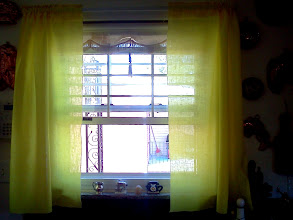 Photo: most yellow linen curtains