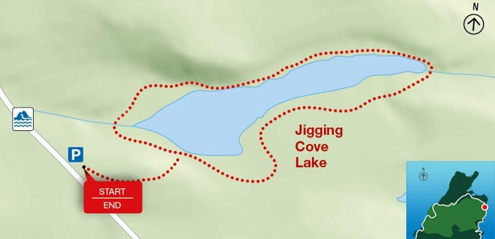 Jigging Cove Lake, Park Narodowy Cape Breton Highlands