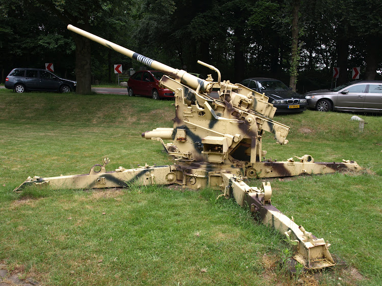 German 88MM anti aircraft gun.