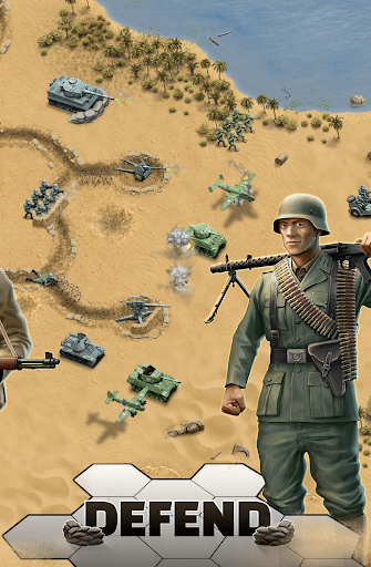 1943 Deadly Desert - a WW2 Strategy War Game u0635u0648u0631 2