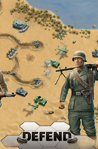 1943 Deadly Desert – a WW2 Strategy War Game Apk Download For Android and Iphone 2