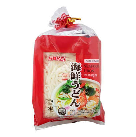 Udon Soup Seafood 690g Hosei