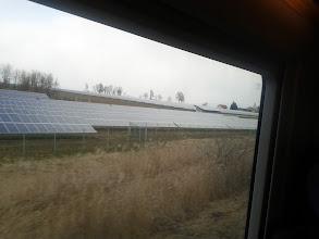 Photo: Solarfelder in Bayern