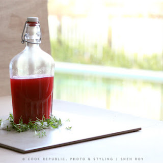NATURAL RED WINTER CORDIAL