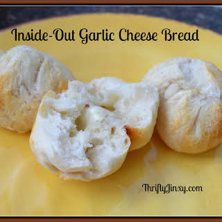 Inside-Out Garlic Cheese Bread Bites.